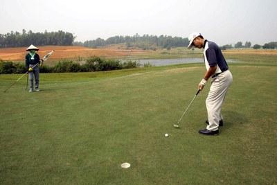 Viện cớ đất lúa một vụ năng suất thấp để lấy làm sân golf! ảnh 2