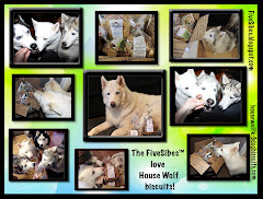 FiveSibes Love House Wolf Biscuits!