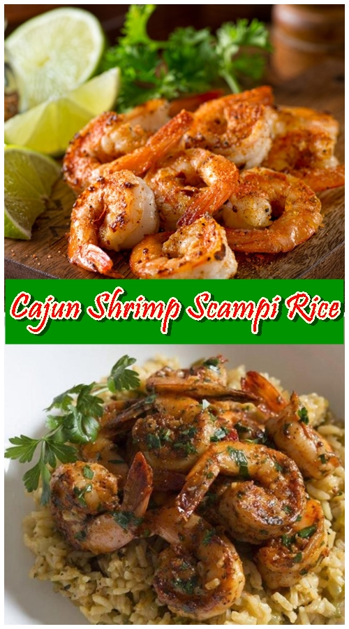 Cajun Shrimp Scampi Rice