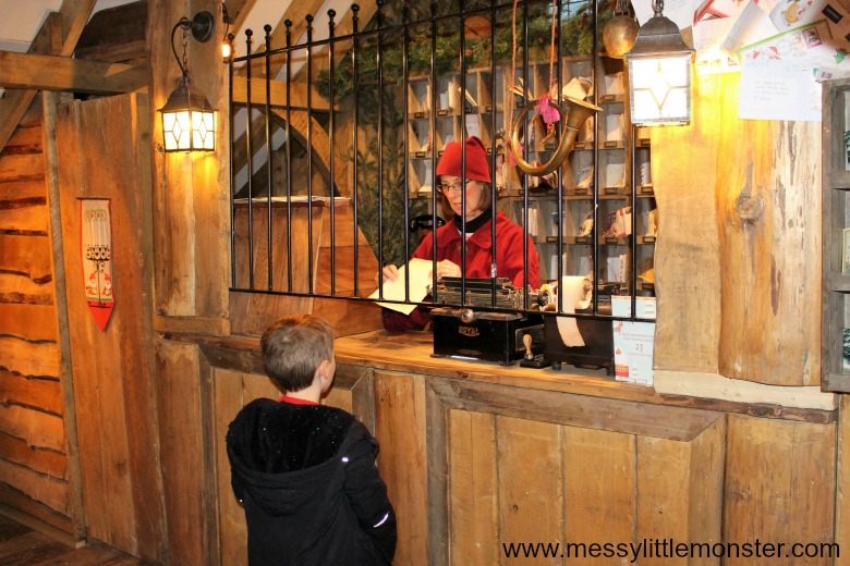 posting letters to santa at lapland uk review