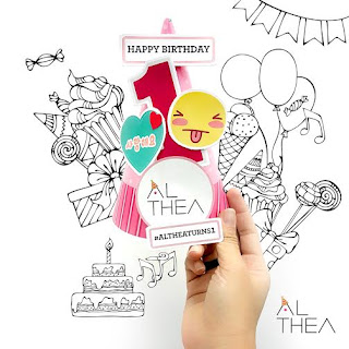 Althea Turns 1 Birthday Celebration & Giveaway