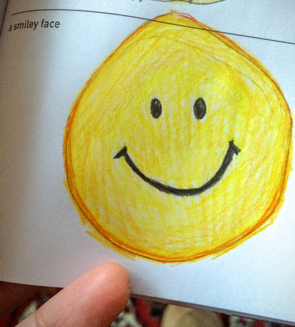 Drawing a Smiley Face via facedances.blogspot.com