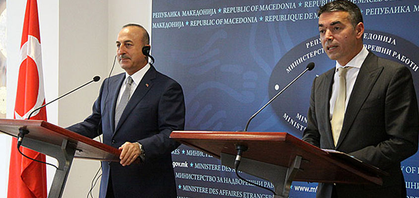 Macedonia deserves NATO accession, says Turkish FM