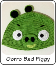 Gorro Bad Piggy