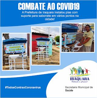 Iraquara/BA: Prefeitura implementa  ações no combate ao coronavírus