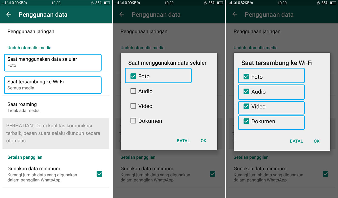 Cara Mencegah WhatsApp Untuk Menyimpan Foto Otomatis
