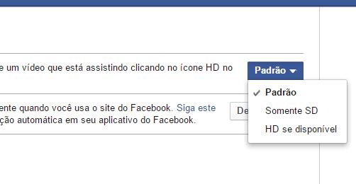 Como reproduzir vídeos em HD no Facebook