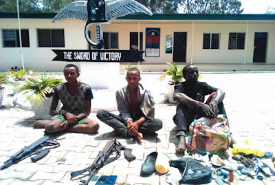 Herdsmen With Guns Captured By Soldiers