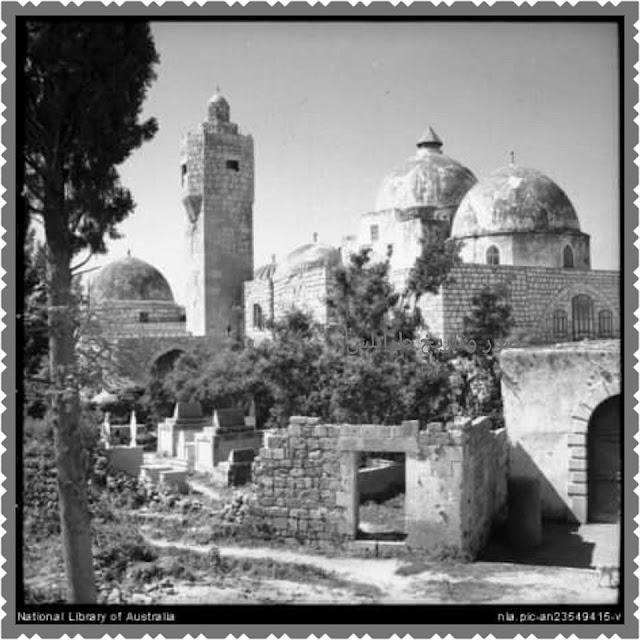 صورة قديمة لمسجد طينال