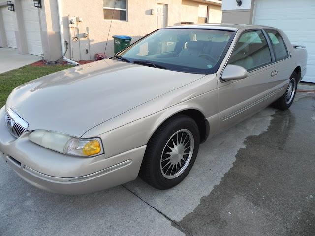 Daily Turismo: Thirtieth Anniversary:1997 Mercury Cougar XR7