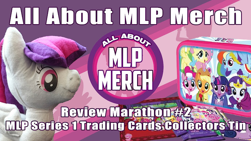 Review Marathon #2 - Opening a Trading Cards Tin + Amy Plush!