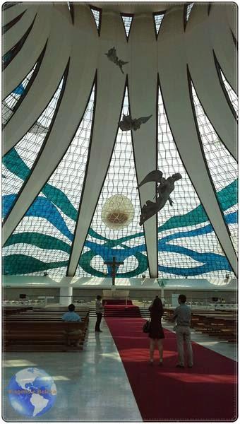 Interior da Catedral de Brasília