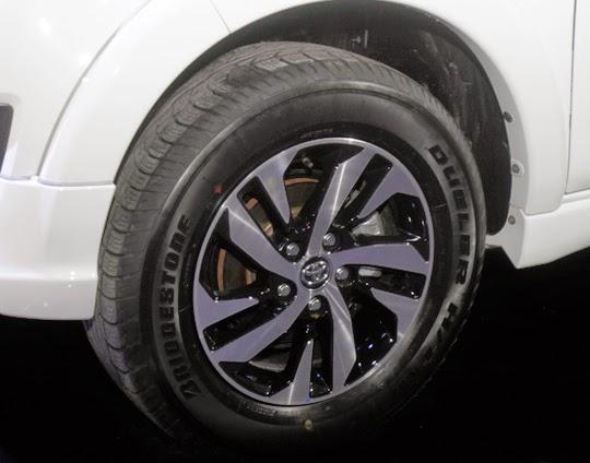 Modifikasi Grand New Avanza E Fog Lamp Ban Standar Rush Dan Terios Menggunakan Bridgestone Dueler ...
