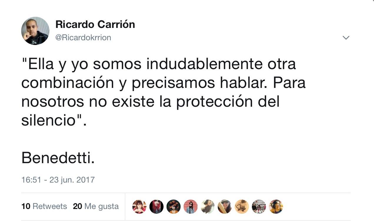 La Treguadoc Frases De Amor Mario Benedetti La Tregua