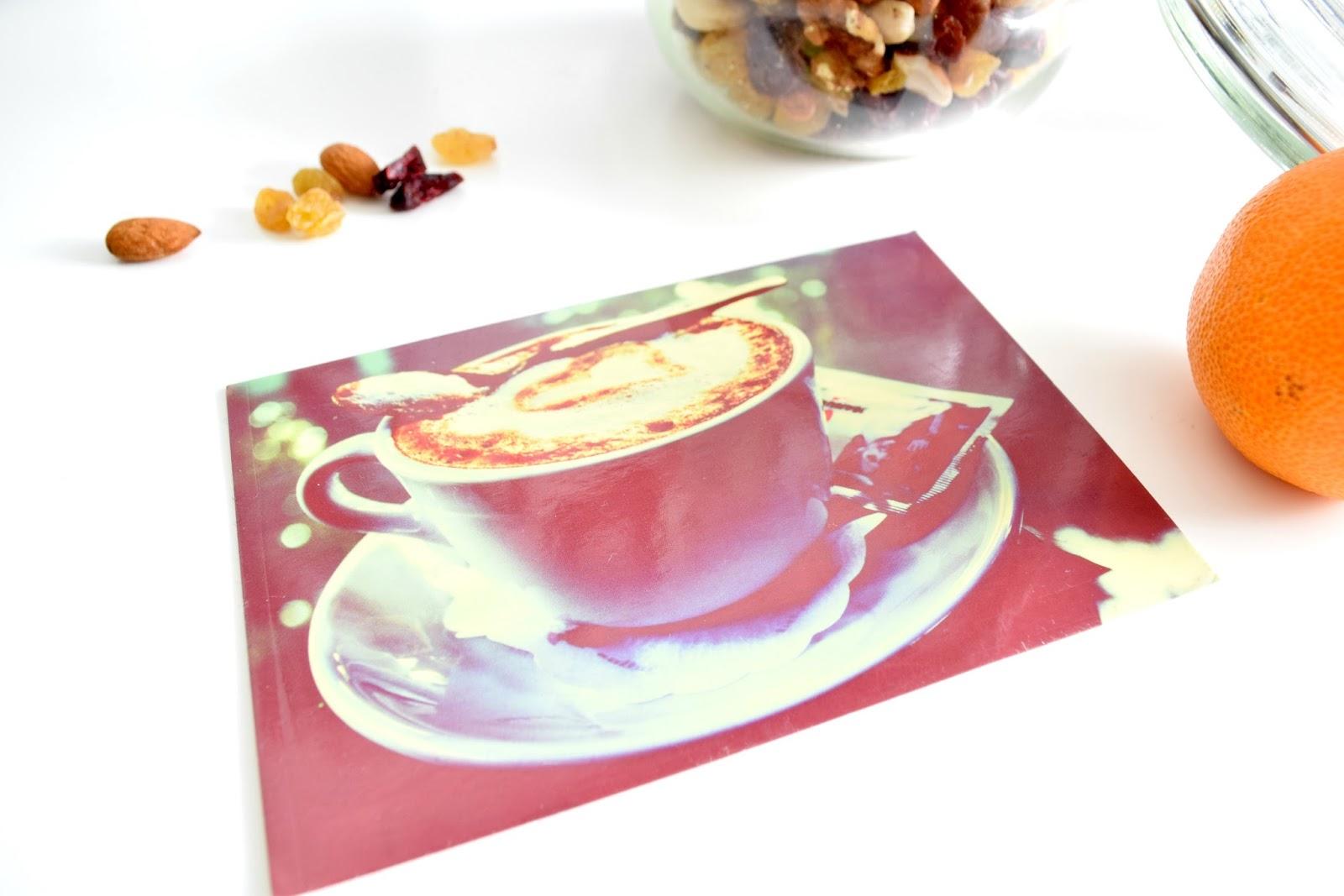 Pocztówka z kawą