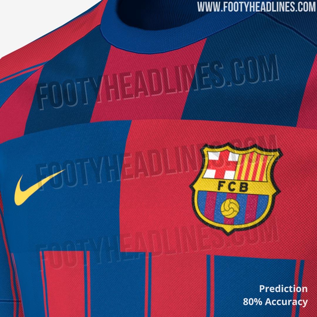 Nike FC Barcelona Mashup Jersey Leaked | Futbolgrid