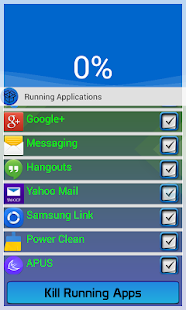 4. Clean Running Applications