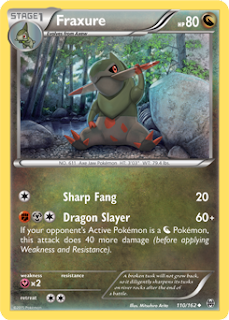 Haxorus BREAKthrough Pokemon Card