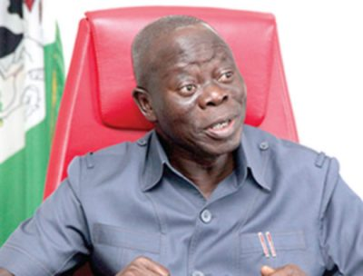 Retirement benefits: Oshiomhole, Odubu to get ₦300m mansions
