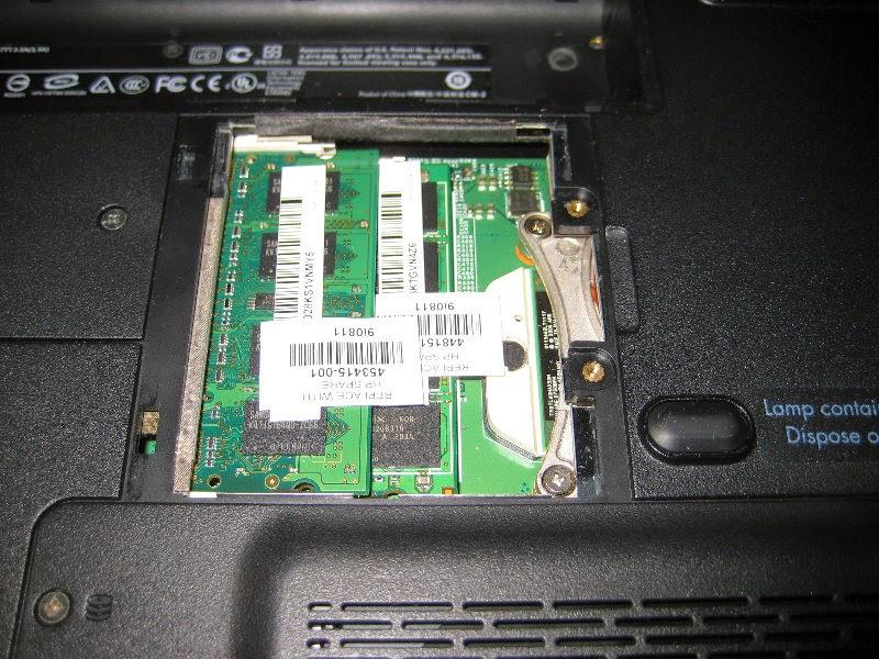 Tips Cara Mengganti Memory atau RAM Laptop