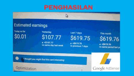 Rahasia Google AdSense Cara Mendapatkan Penghasilan