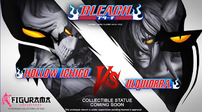 Figuras: Figurama Collectors anuncia su próxima figura de Bleach dedicada a Hollow Ichigo Vs Ulquiorra