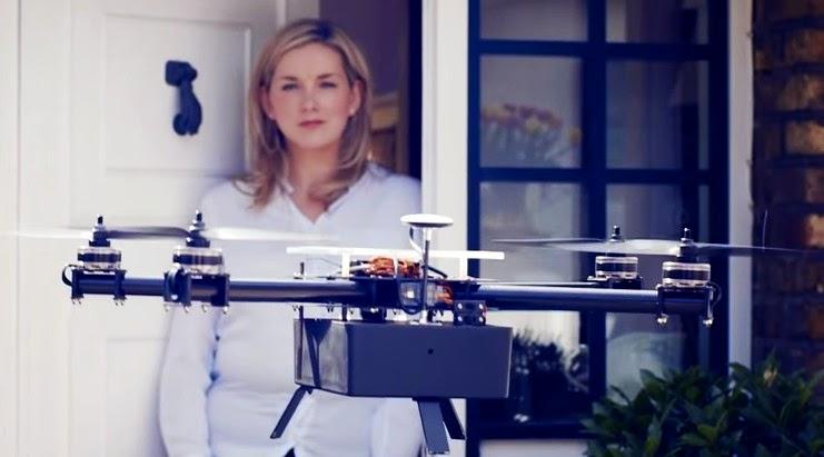 無人機是否需要飛行執照呢?英國新創Bizzby無人機送貨還未升空即受阻