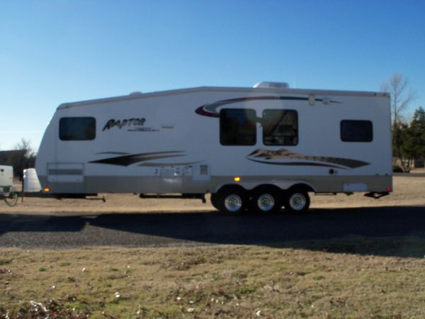 Welcome to RVinOklahoma com: Used Toy Hauler Travel Trailer