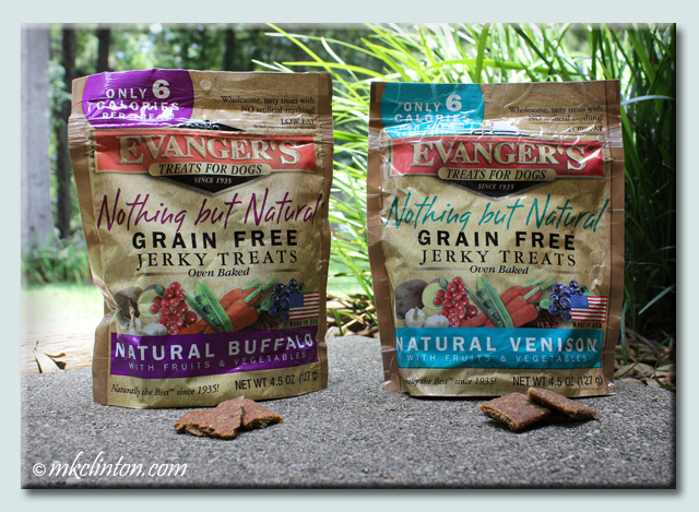 Evanger's Nothing but Natural® Grain Free Jerky Treats Buffalo and Venison