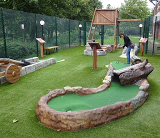 Castle Adventure Golf at Namco Funscape in Tamworth