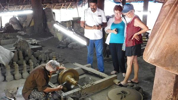 fonderie de bronze a Thrissur