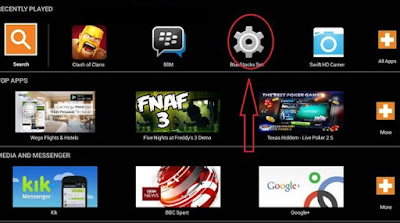 Log Out BBM di Bluestacks