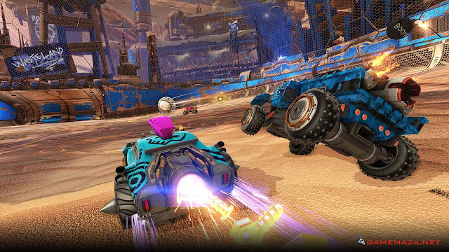 Rocket League Chaos Run Gameplay Screenshot 2