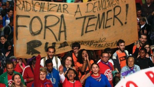 Brasileños continúan en protesta contra Temer a 5 días para los JJOO Río 2016