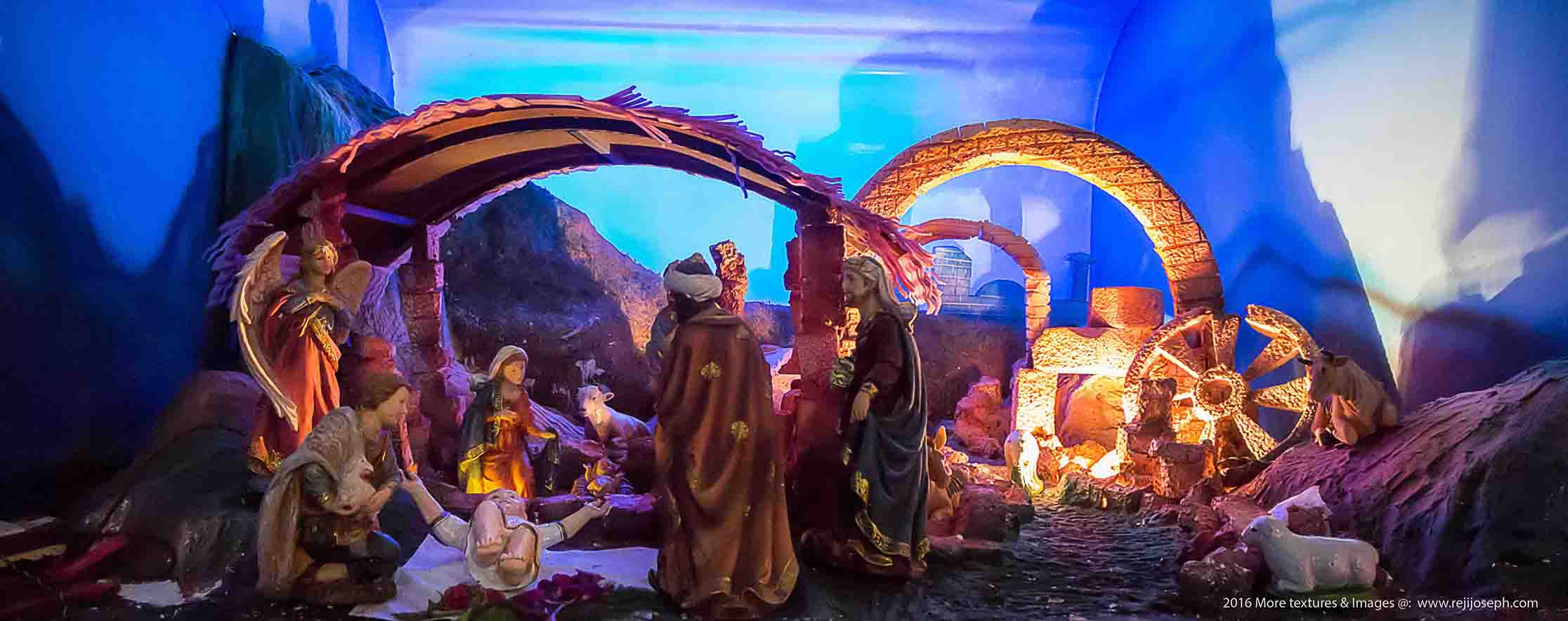 Christmas crib Pulkoodu St. George Forane Church Edappally 00006