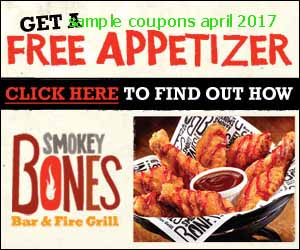 Smokey Bones coupons april