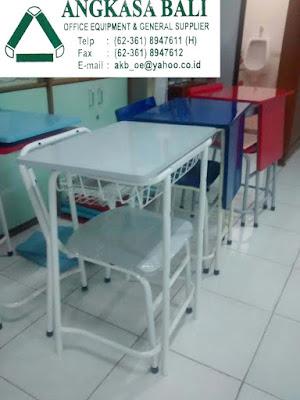 jual meja belajar kursi belajar di bali meja kursi belajar anak