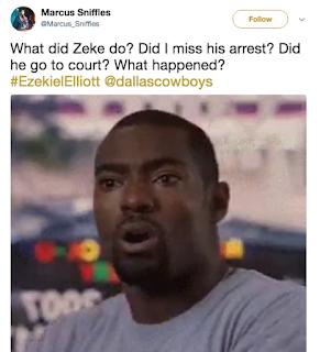 Ezekiel Elliott Suspension Memes