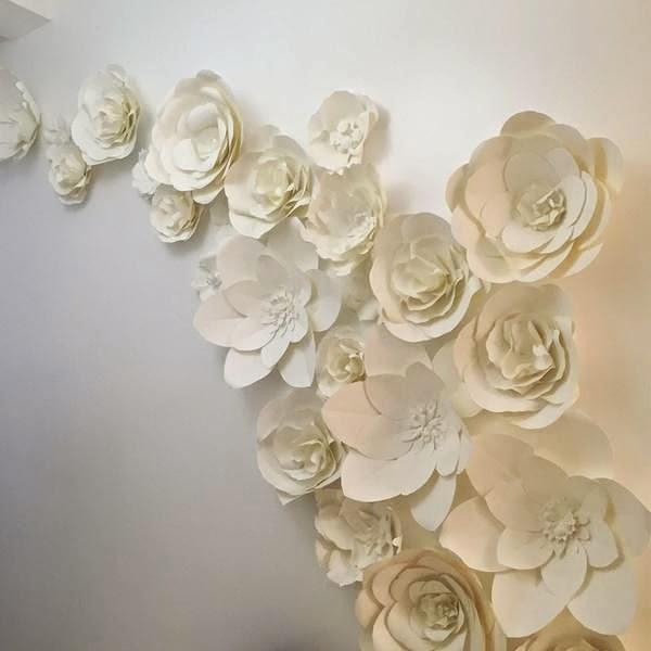 Paper & Peony: Atmosphere Designs - Large Paper Flower Walls