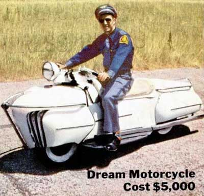 1952 Courtney Enterprise Motorcycle