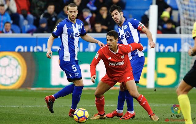 Precedentes ligueros del Sevilla FC ante el Alavés