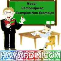 Model Pembelajaran Examples Non Examples