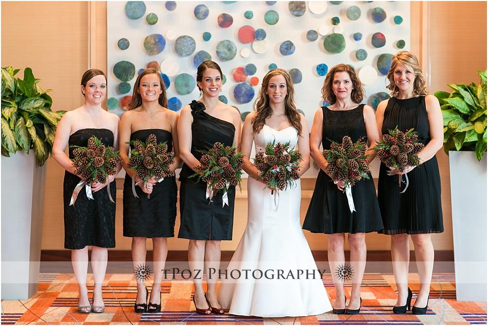 Baltimore Hilton Wedding Bridesmaids