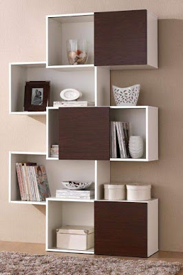 modern wooden wall shelves design ideas for living room 2019