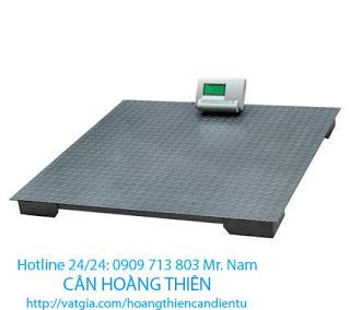 Cân sàn điện tử 3 tấn giá rẻ