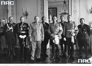 Józef Piłsudski i Adam Sokołowski - Warszawa 1930