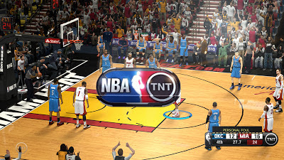 NBA 2K13 NBA on TNT Presentation Wipes