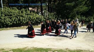 gabarreros 2017 EL ESPINAR SEGOVIA SAN RAFAEL HACHA LEÑA