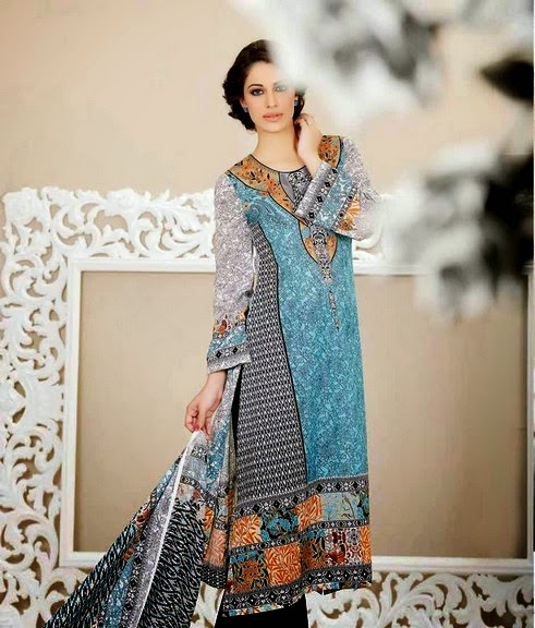 Latest Five Star Classic Lawn 2014 for Girls