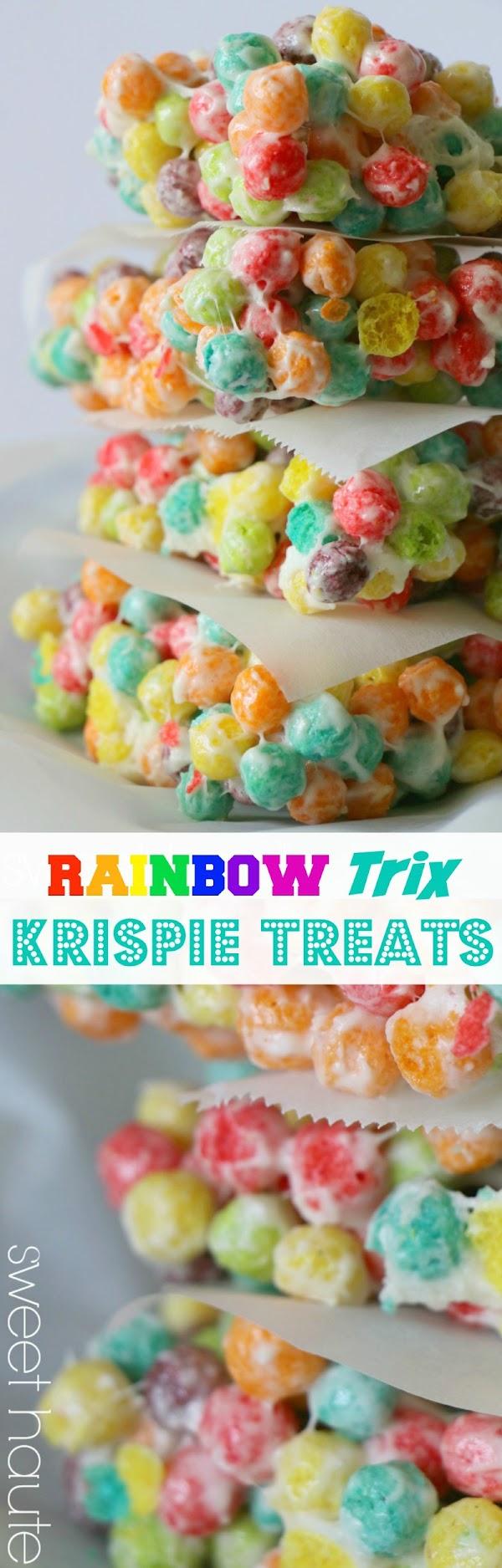 http://sweethaute.blogspot.com/2015/03/rainbow-trix-krispie-treats.html